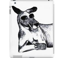 Cool Kangaroo iPad Case/Skin