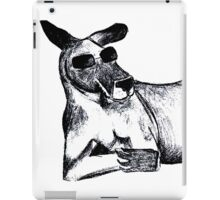 Cool Kangaroo iPad Case/Skin