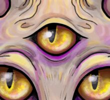 Third Eye Sphynx  Sticker