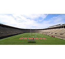 Harvard Stadium  Photographic Print