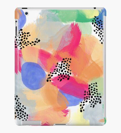 Abstract Brush iPad Case/Skin