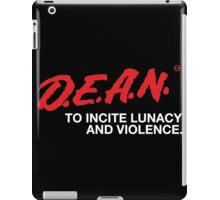 D.E.A.N. SHIRT iPad Case/Skin