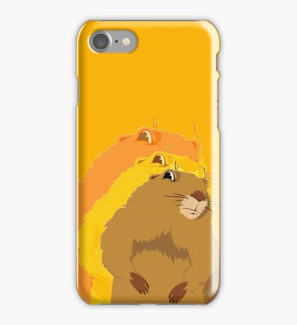 Dramatic Look Gopher iPhone Case/Skin
