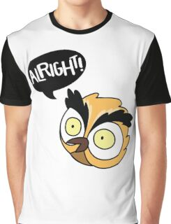 Alirght Owl Graphic T-Shirt