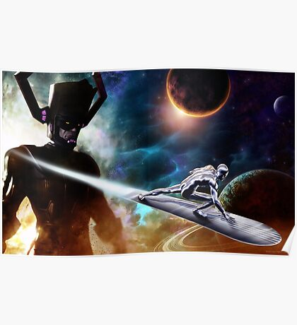 Sliver Surfer Poster