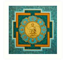 Buddha. Jewels of Dharma Art Print