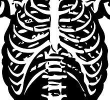 Skeleton Rib Cage by mralan