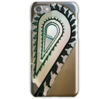 Metal ornamented staircase iPhone Case/Skin