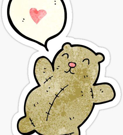 cartoon teddy bear Sticker