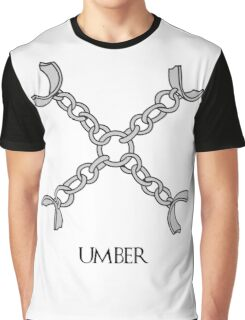 Umber house - Game of thrones - Bodbeli Graphic T-Shirt