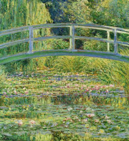 Claude Monet - Water-Lily Pond Sticker