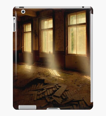 Light beams iPad Case/Skin