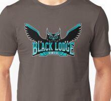 Black Lodge Owls (Teal Variant) Unisex T-Shirt