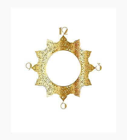 Gold Star Photographic Print