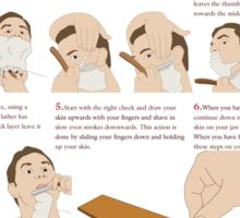 How to Shave Sticker
