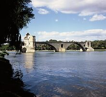 Le Pont D'Avignon, France by John Morris