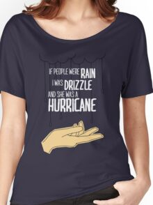 She Was A Hurricane Women's Relaxed Fit T-Shirt