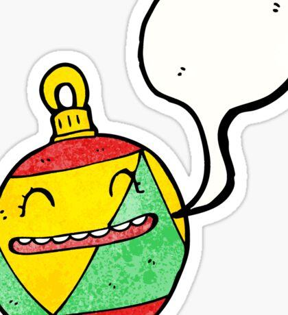 cartoon bauble Sticker