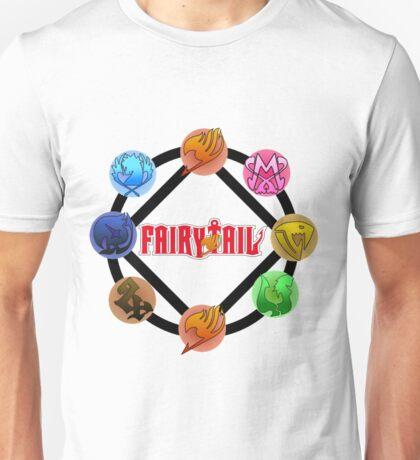 Fairy tail Guilds Grand Magic Games Unisex T-Shirt