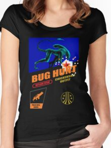Aliens - Bug Hunt Women's Fitted Scoop T-Shirt