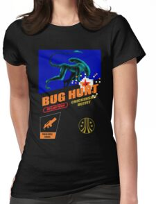 Aliens - Bug Hunt Womens Fitted T-Shirt