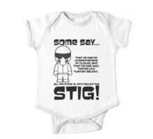 The Stig - No understanding of Clouds One Piece - Short Sleeve