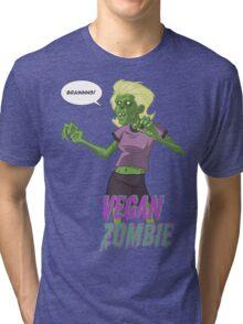 Walking Vegan Tri-blend T-Shirt