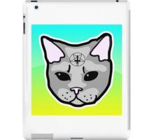 Satanic Cat  iPad Case/Skin