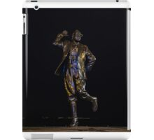 Eric Morecambe statue by night iPad Case/Skin