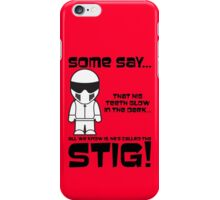 The Stig - Glow in the Dark Teeth iPhone Case/Skin