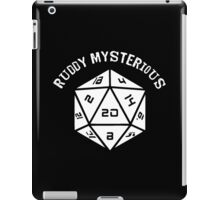 IT Crowd: Dungeons and Dragons: Ruddy Mysterious (D20) - (Quote) iPad Case/Skin