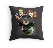 Mad M. Throw Pillow