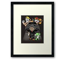 Mad M. Framed Print