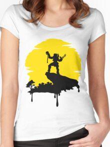 Predator Sun Women's Fitted Scoop T-Shirt