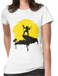 Predator Sun Womens Fitted T-Shirt