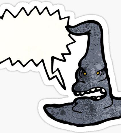 cartoon witches hat Sticker