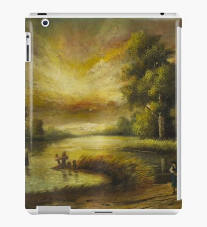 Oil Painting nature iPad Case/Skin
