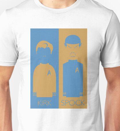 Kirk & Spock Unisex T-Shirt
