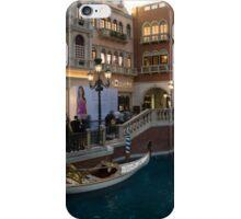 It's Not Venice - the White Wedding Gondola iPhone Case/Skin