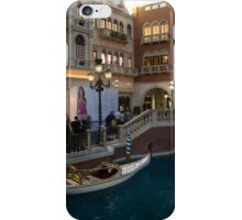 It's Not Venice - the White Wedding Gondola iPhone Case/Skin