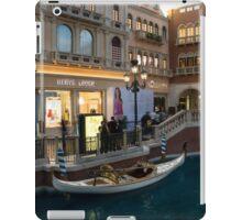 It's Not Venice - the White Wedding Gondola iPad Case/Skin