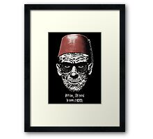 Keep cool, stay young. Framed Print