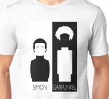 Simon and Garfunkel B&W Unisex T-Shirt