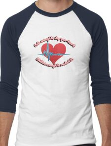 Cute enough to stop your heart, skilled enough to restart it Men's Baseball ¾ T-Shirt