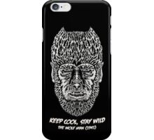 Keep cool, stay wild. iPhone Case/Skin