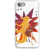 Kazart Phoebe Rocks (on light) iPhone Case/Skin