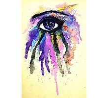 Watercolor Eye Photographic Print