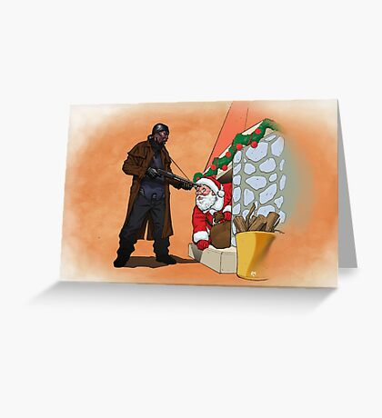 Omar Little strikes again Greeting Card