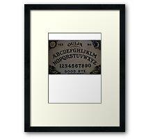 Ouija. Framed Print