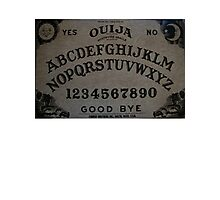 Ouija. Photographic Print